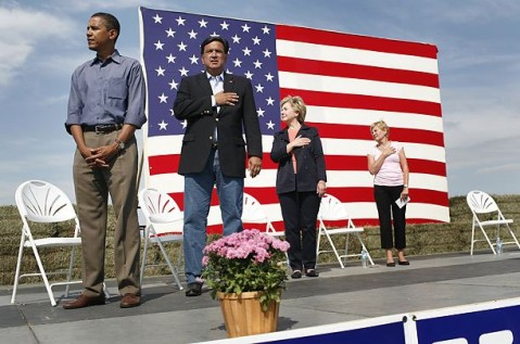 Obama and the National Anthem