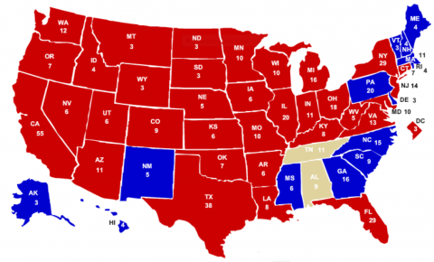 electoral college post nv and az