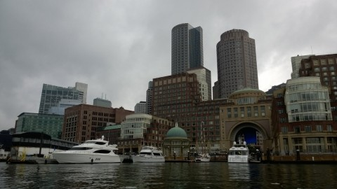 boston ma from water taxi