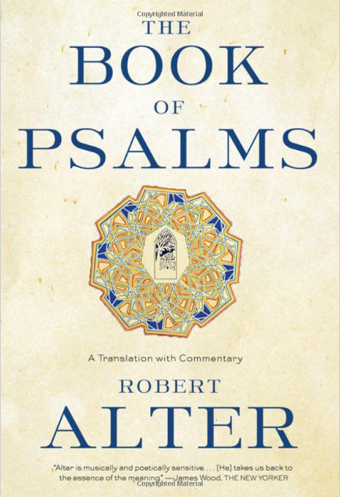 book of psalms by robert alter