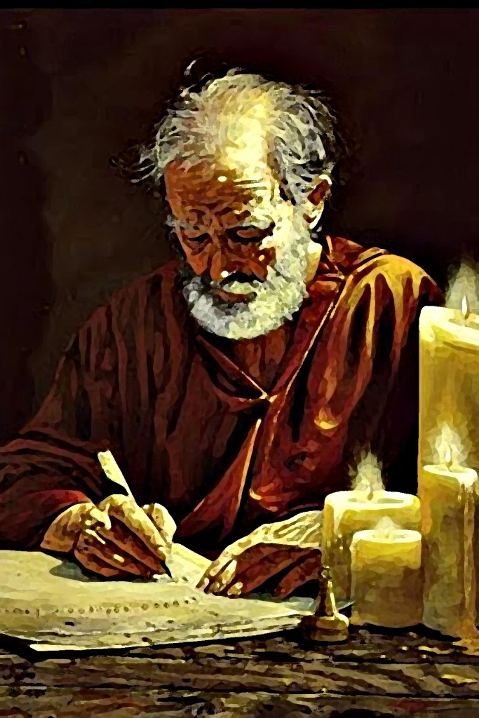 st paul writing in rome