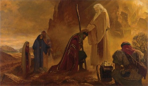 consecration of joshua
