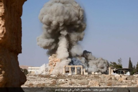 islamic state destroys temple of baal