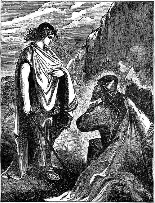 joshua meets the commander of the lords armies