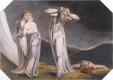 Lamech and his Two Wives 1795 William Blake 1757-1827 Presented by W. Graham Robertson 1939 http://www.tate.org.uk/art/work/N05061