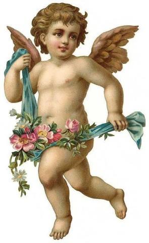 victorian cherub