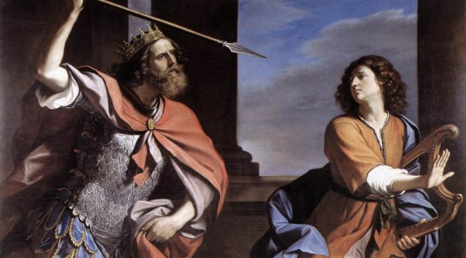 """Impressions of """"Saul, Doeg, Nabal, and the 'Son of Jesse': Readings in 1 Samuel 16-25"""" by Joseph Lozovyy"""